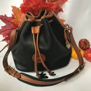 Vintage Dooney & Bourke Drawstring Bag Style R58